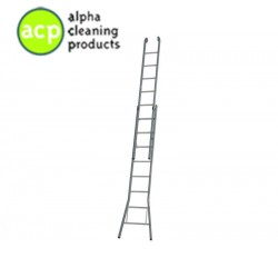 Ladder 2 x 8 / 35 cm. optrede gecoat DGG 52 x 8