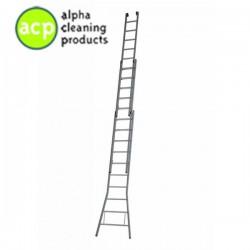 Ladder 3 x 9 / 35 cm. optrede gecoat DGG 53 X 9
