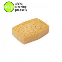 Viscose spons 13.5 x 9 x 3.3 cm. medium pak a 10 stuks