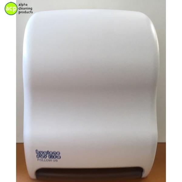 Handdoek dispenser AUTOMATIC t.b.v. Controlomaticrol Wit AKTIE Handdoek automaat