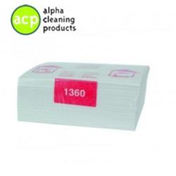 Handdoekcassette papier 2lg 6x55m Vendor 1360 OP=OP