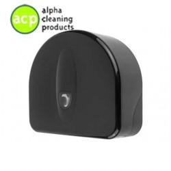 Mini jumborol dispenser + restrol Zwart