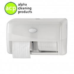 Toiletrolhouder Duo Coreless Pearl White