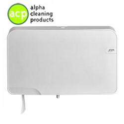 White Quartz duo toiletrolhouder compact