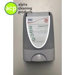 Touch free dispenser wit/chroom 1ltr Deb IFSTF2MD inc opvangbak wit TRYWHI