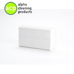 VENDOR 1463 2lg Papieren handdoekjes  WIT 100% pure pulp/cellulose 22x24cm 3750st op=op 76,69 -67%