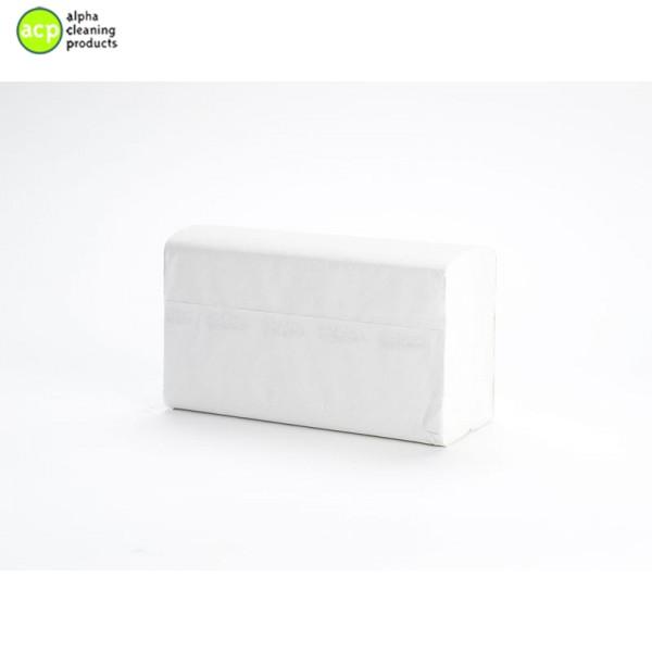 VENDOR 1463 2lg Papieren handdoekjes  WIT 100% pure pulp/cellulose 22x24cm 3750st op=op 76,69 -60%