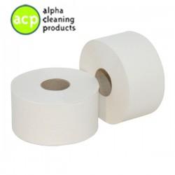 Mini jumbo 2 lg 180 mtr  toiletpapier tissue  pak a'12 rol