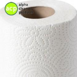 Toiletpapier wit cell 2 lg 400 vel 40 rol Ecolabel