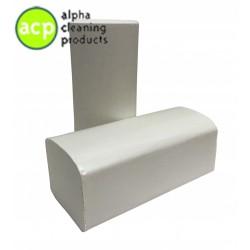 Papieren handdoekjes Z vouw naturel  1 laags 25 x 23 cm  a' 5000 stuks