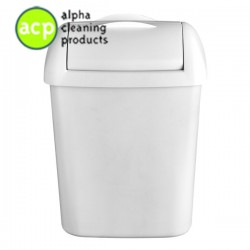 Hygienebak 8 ltr mat wit