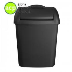 Hygienebak 8 ltr mat zwart