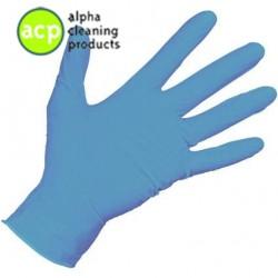 Nitril handschoen poedervrij S Blauw ds a' 100st