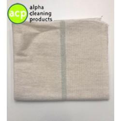 Dweil met groenband   70 x 80 cm. groeneband
