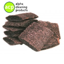 Staalwolspons met zeep pak a'10st