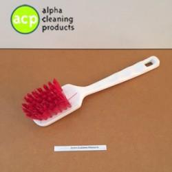 Afwasborstel, korte steel polyester ROOD AKTIE normaal 3,25 OP=OP