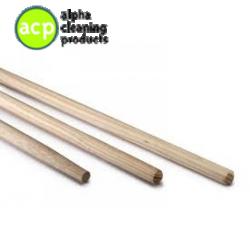 Bezemsteel hout 170 x 28 cm