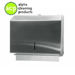 Papieren handdoek dispenser Mini  RVS