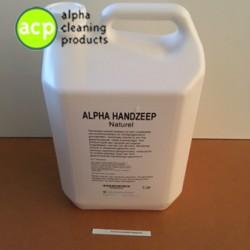 Handzeep Alpha  Naturel 5 ltr