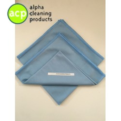 Microvezelglasdoek  32x40cm Blauw AKTIE normaal 3,25