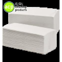 Papieren handdoekjes z vouw cel 2 laags 24x21cm 3200 stuks.