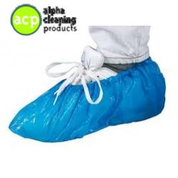 Schoenbeschermer blauw 100 st