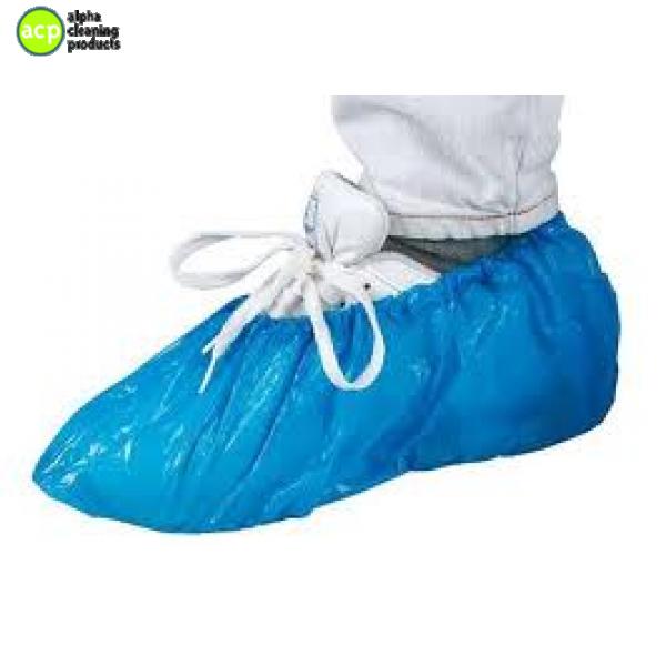 Schoenbeschermer blauw 100 st Schoen beschermers