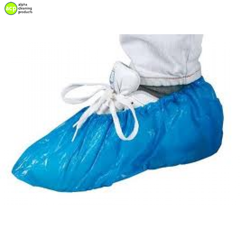 Schoenbeschermer blauw 100 st for Zwembad plastic
