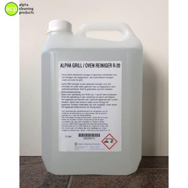 Alpha grill/oven Reiniger R-20  5 liter