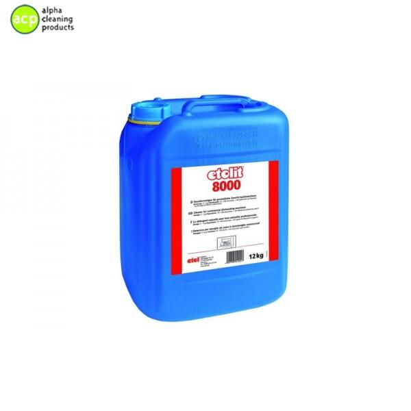 Vloeibaar vaatwasmiddel 12kg Etol 8000 Vaatwas