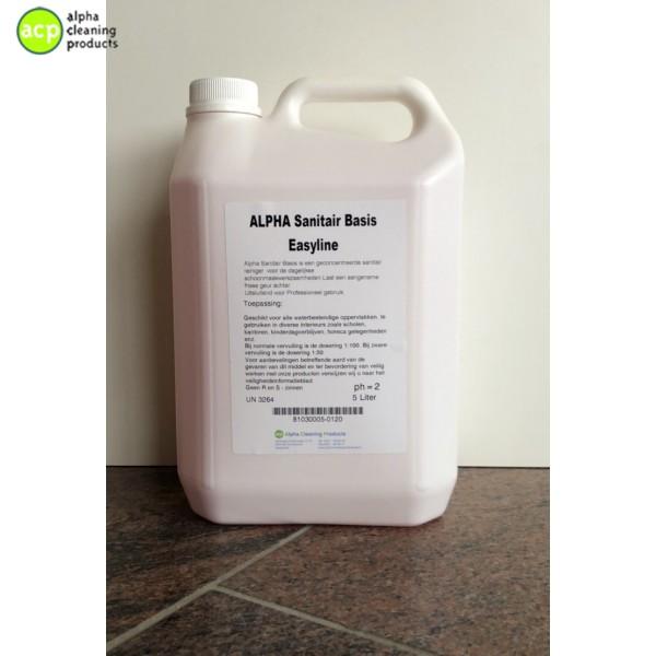 Sanitairreinger Alpha Basis 5 ltr