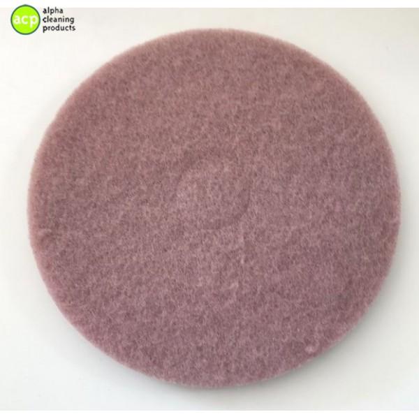 Roze Polijstpad 16 inc per stuk