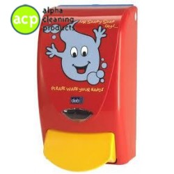 Proline dispenser  Mr soapy soap  deb