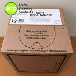 Spoelglans Alpha Line BAG IN BOX 10 ltr
