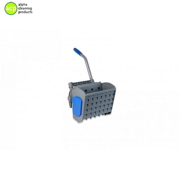 Vlakmop pers blauw/grijs Mop/microvezeldoek pers